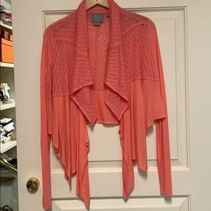 Coral color long sleeve Camisole.